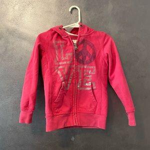 Toddler Girl Pink CherokeeJacket Size 4/5